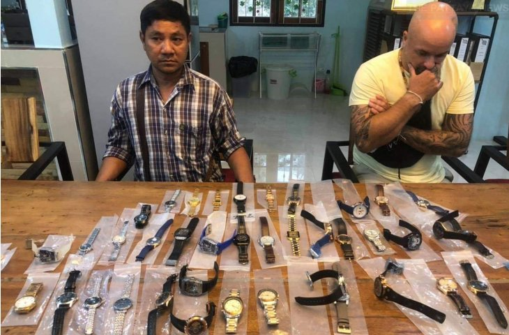 Brit Arrested For Flogging Fake Watches In Pattaya